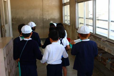 4月22日 学校探検 & 初めてのクラブ