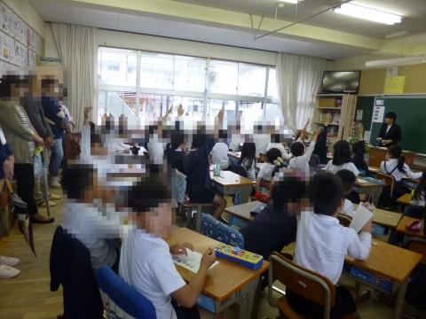 4月28日 授業参観・学級懇談会・PTA総会