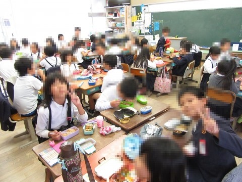 10月15日運動会延期 お弁当