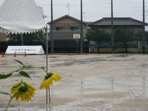 冷たい雨パート2  10月17日(火)
