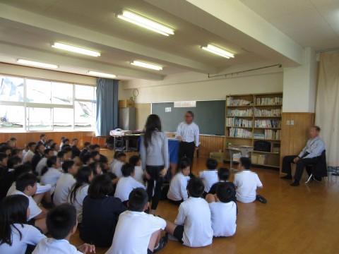 5年生 非行防止・犯罪被害防止教室