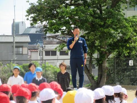前川先生の話